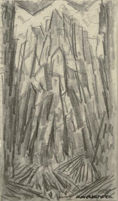 , 'City Abstraction II,' ca. 1908, Forum Gallery