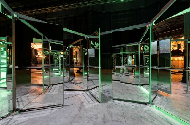 , 'Revolving Doors,' 2016, Gagosian