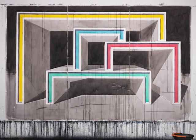 , 'Structure 342x213 cm/ Triptic,' 2016, Casado Santapau