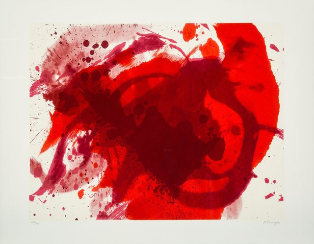 Kazuo Shiraga, 'Passionate Winter, from Official Arts Portfolio of the XXIVth Olympiad, Seoul, Korea', 1988, Heritage Auctions
