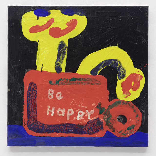 , 'Be Happy,' 2018, The Hole