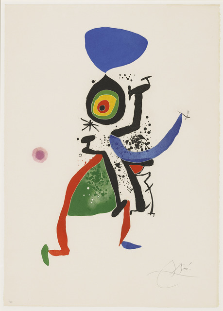Joan Miró, 'Joan Miró. Gravats 5 Poemes. Joan Salvat-Papasseit', 1974, Christie's