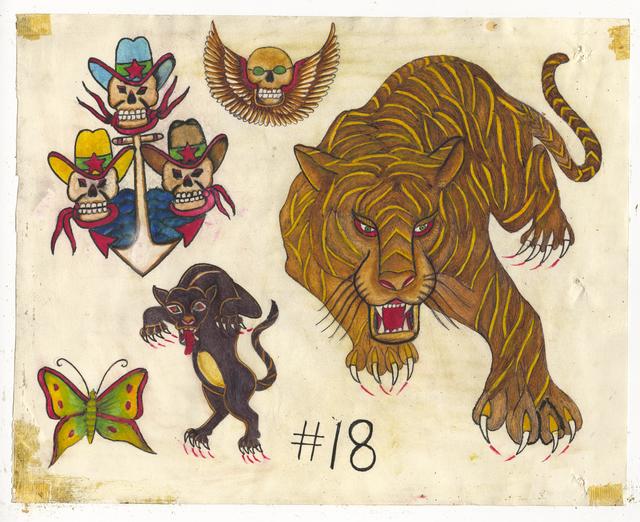 , 'Untitled (Big Tiger),' ca. 1950, Ricco/Maresca Gallery