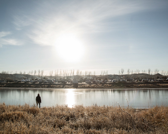 , 'Mitakuye Oyasin #1, Mni Wiconi, Standing Rock,' 2016, The Untitled Space