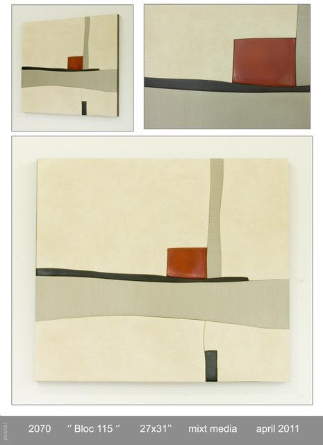 , 'BLOC 115,' 2011, GF Contemporary