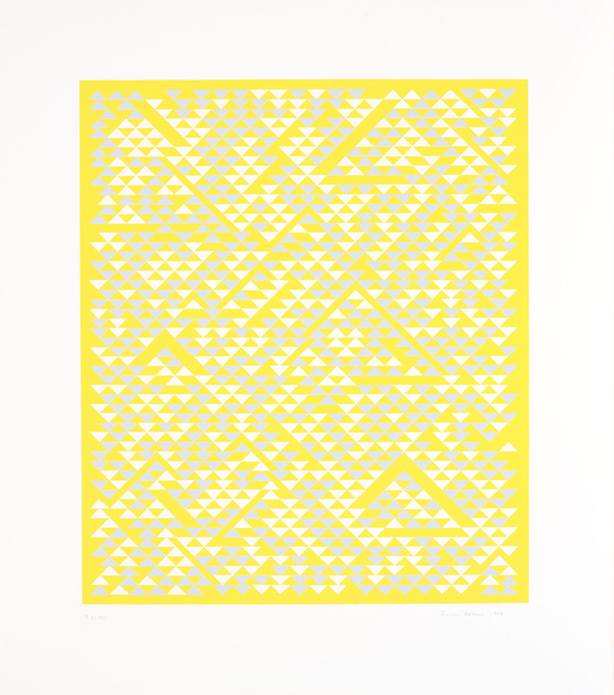 , 'B,' 1968, Alan Cristea Gallery