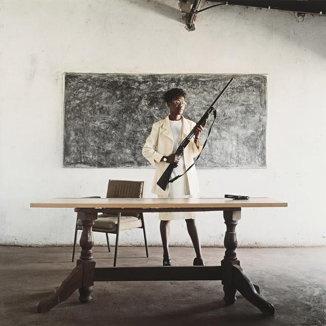 Mikhael Subotzky, 'Lindiwe Mutoma (Female Detective), Lusaka, Zambia', 2005, Sotheby's