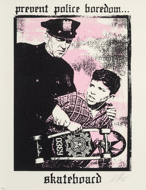 Shepard Fairey, 'Prevent Police Boredom', 2018, Heritage Auctions
