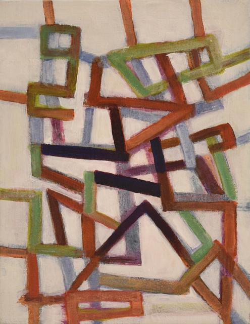 , 'Line Interactions #1,' 2018, Carter Burden Gallery