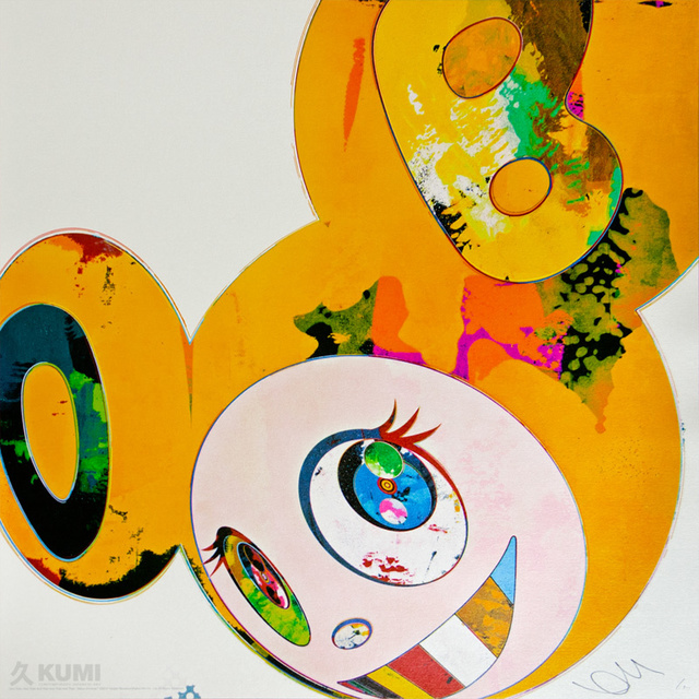 Takashi Murakami, 'And Then x6 Yellow Universe', 2013, Kumi Contemporary / Verso Contemporary