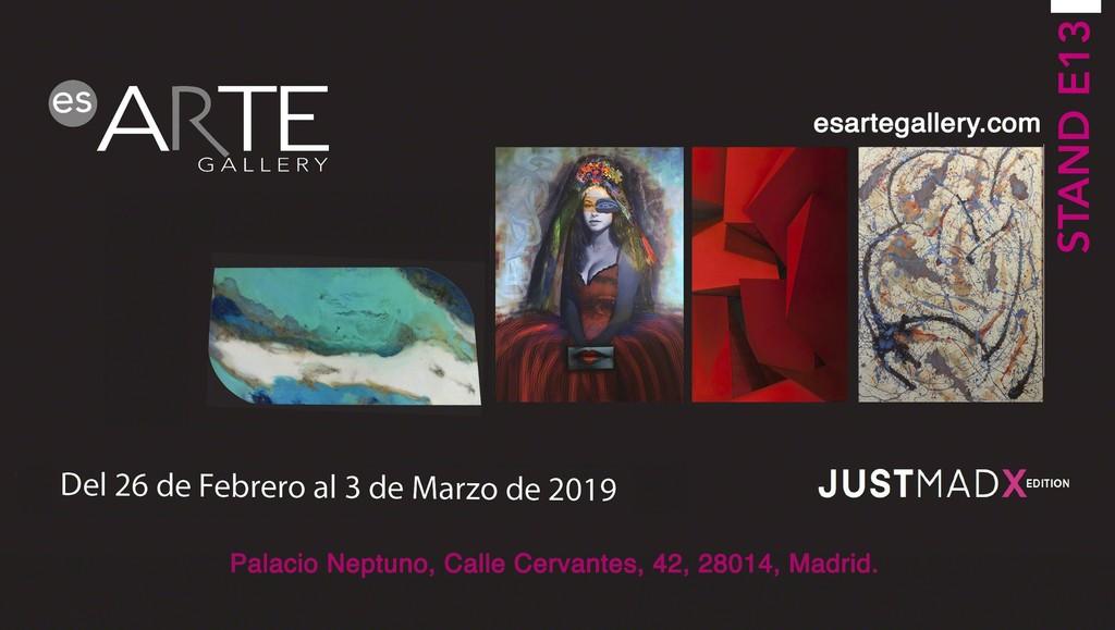 Es.Arte Gallery at JustMad X Edition