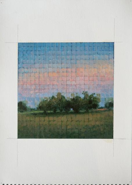 , 'Mosaic: Trees at Sunset,' 2015, Nohra Haime Gallery