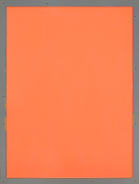 , 'from series Out of imperfection: Orange on gray,' 2016, Baró Galeria