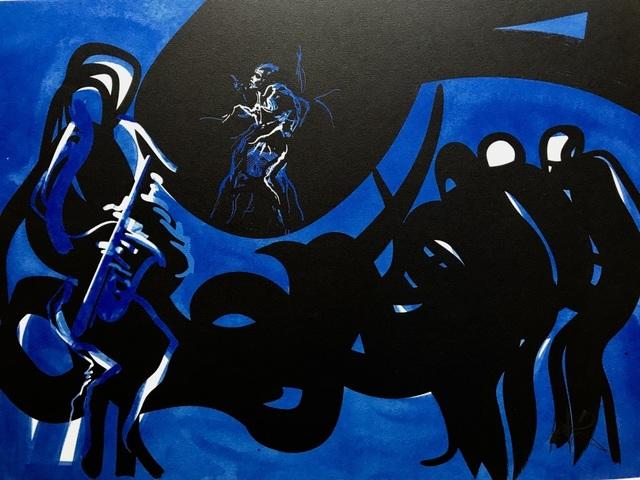 , 'Blue Note,' ca. 1980, ByNewArt