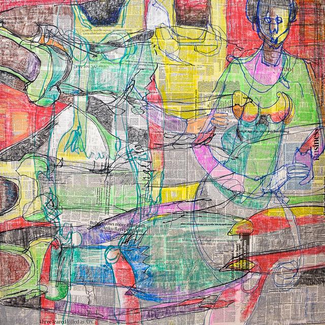 DUKE ASIDERE, 'Interpretations', 2019, Retro Africa