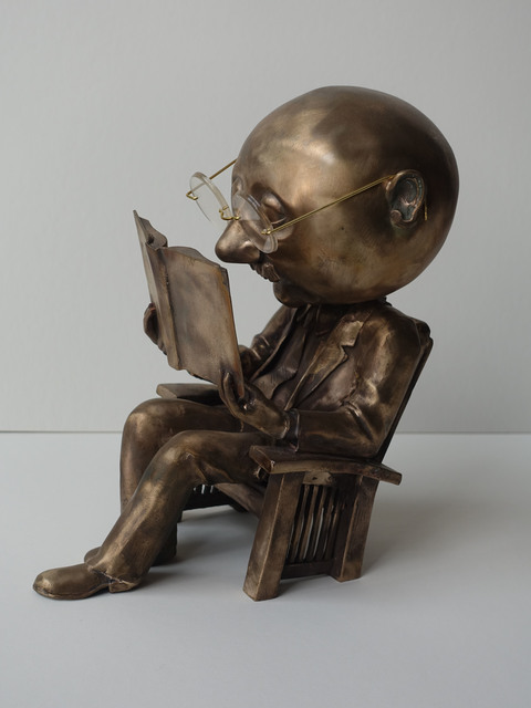, 'The Reader #12,' 2010, Seager Gray Gallery