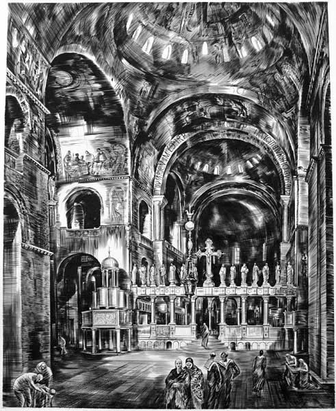 , 'St. Mark's, Venice (Intérieur de Saint-Marc I),' , Childs Gallery