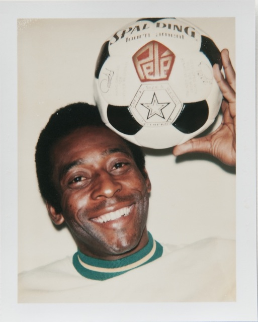 Andy Warhol, 'Andy Warhol, Polaroid Portrait of Pelé', Hedges Projects