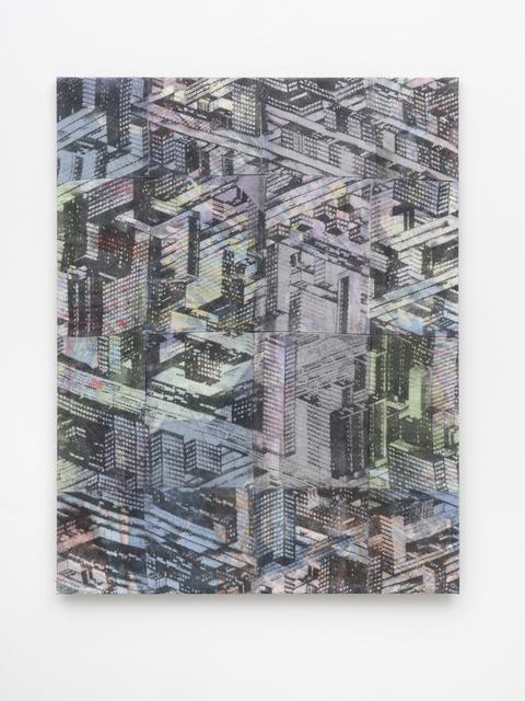 , 'city pattern,' 2017, PPC Philipp Pflug Contemporary