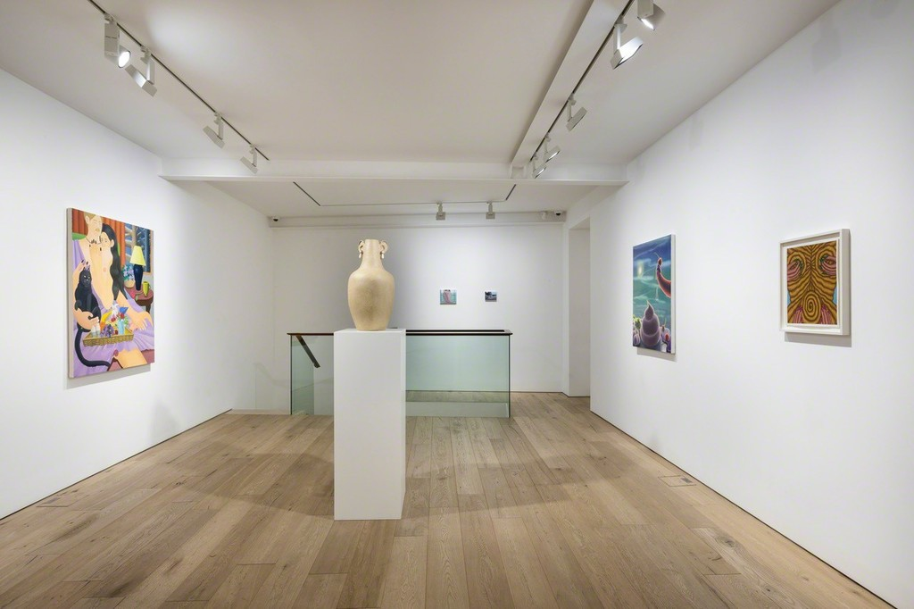 """View of the Group Show """"No Patience For Monuments"""" at Perrotin Seoul, 2019. Courtesy Perrotin."""