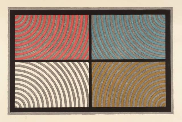 Sol LeWitt, 'Arcs from Four Corners', 1986, Senior & Shopmaker Gallery