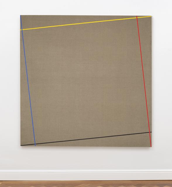 Winfred Gaul, 'Markierungen XVIII', 1973, Painting, Polyvinyl acetate on canvas, Ludorff