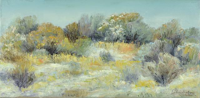 , 'Brush of Winter VI,' 2018, Mark White Fine Art