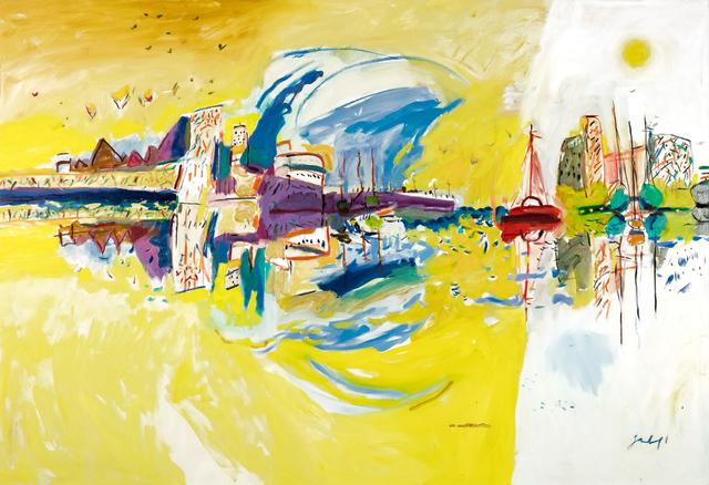 Zygmund Jankowski, 'Old Port, New Port', n.d., Trident Gallery