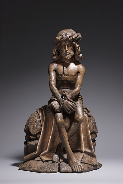 , 'Christ on the Cold Stone / Flanders, Brabant,' ca. 1490, Sam Fogg