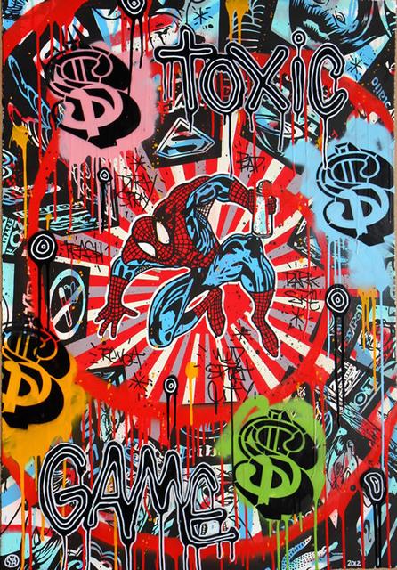 Speedy Graphito, 'Toxic Game ', 2012, Denis Bloch Fine Art