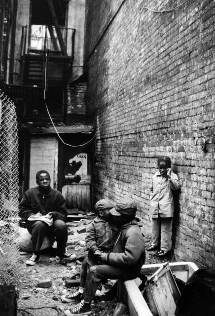 , 'Fontenelle Children Outside their Harlem Tenement, Harlem, New York,' 1967, Jenkins Johnson Gallery