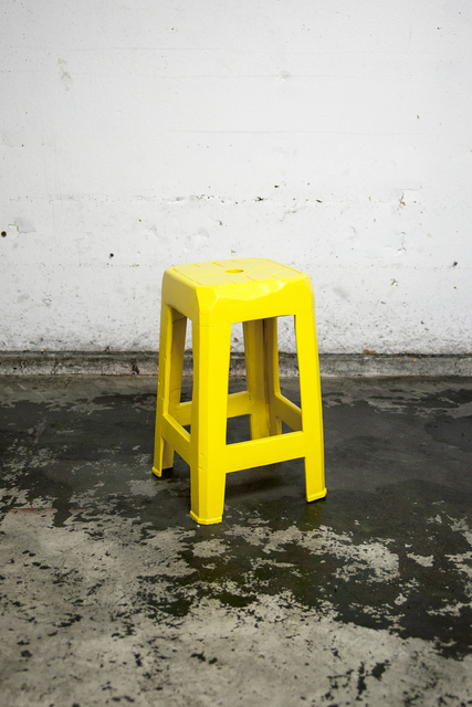 , 'Yellow Stool I,' 2017, Ever Gold [Projects]