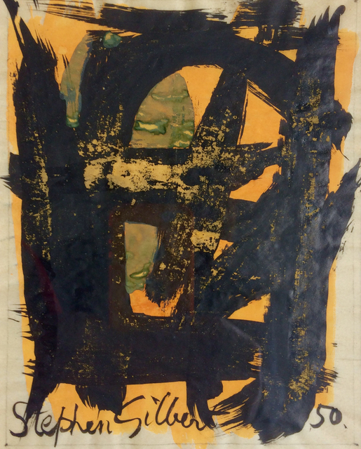 Stephen Gilbert, 'Untitled', 1950, Drawing, Collage or other Work on Paper, Ink & watercolour, Cyril Gerber Fine Art/ Compass Gallery