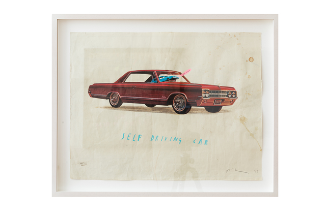 Oliver Jeffers, 'Self Driving Car', 2019, Lazinc