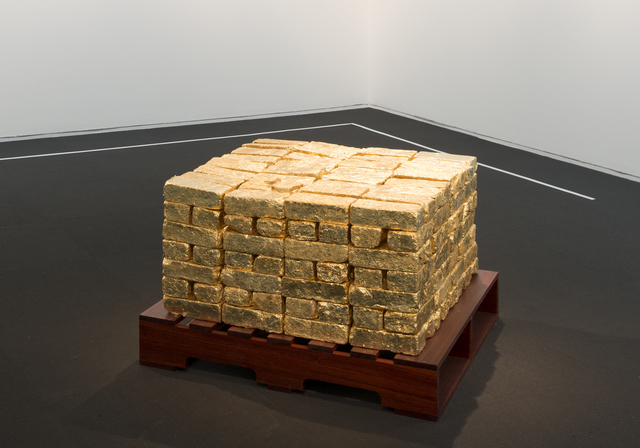 , 'It's a Goldmine/Is the Gold Mine?,' 2016, Rhona Hoffman Gallery
