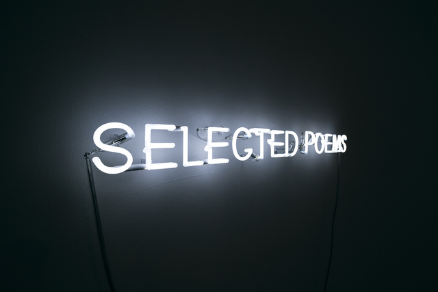 , 'Selected Poems,' 2014, Travesia Cuatro