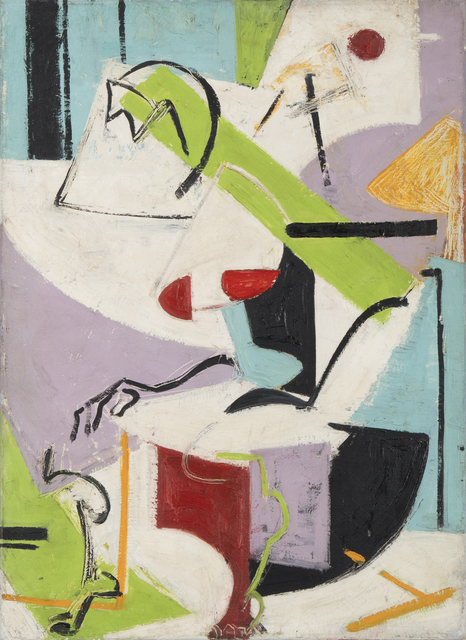 , 'Seated Figure,' 1938-1939, Paul Kasmin Gallery