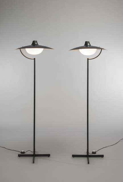 , 'Pair of floor lamps 291,' 1964, Galerie Pascal Cuisinier