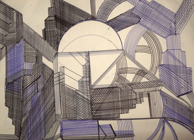 , 'New York City II,' 2016, Fountain House Gallery