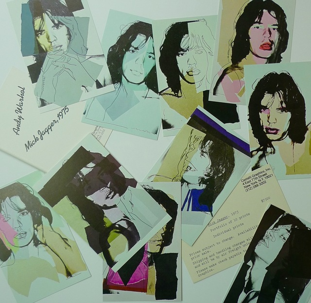 Andy Warhol, 'Mick Jagger', 1975, Bengtsson Fine Art
