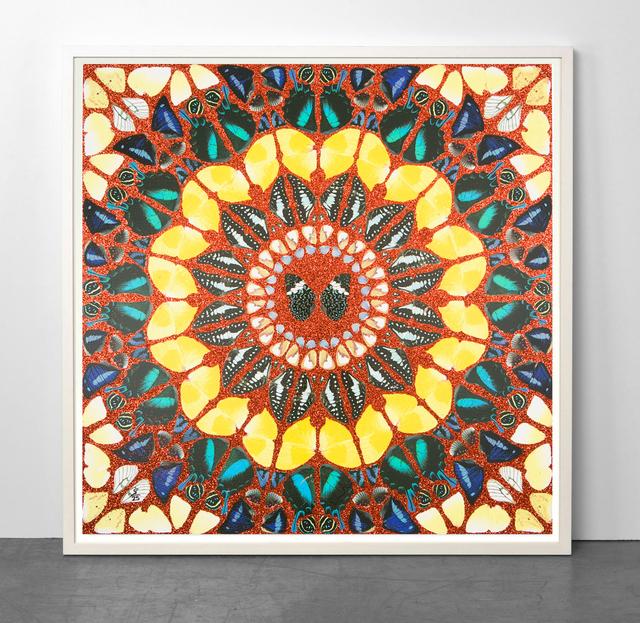 Damien Hirst, 'Psalm - Benedicam Domino (glitter)', 2015, Samuel Owen Gallery