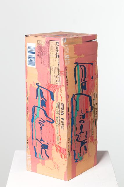 , 'La Croix Pamplemousse Box,' 2017, J+
