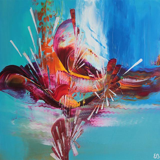 , 'L'effet mer. (3),' 2018, Galerie Art' et Miss