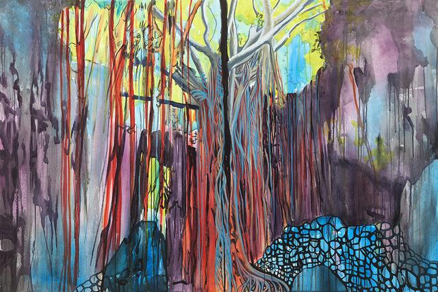 , 'Ufushu Gajumaru (giant banyan tree), Valley of Gangala, Okinawa, Japan,' 2019, FLXST Contemporary