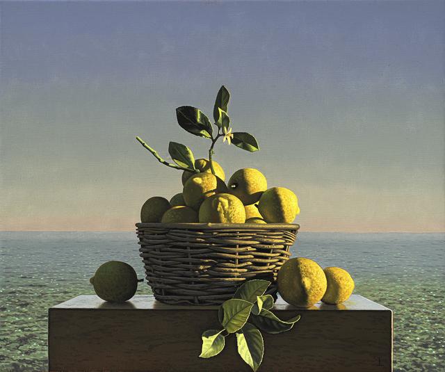 , 'Still Life with Lemons,' 2019, Hirschl & Adler