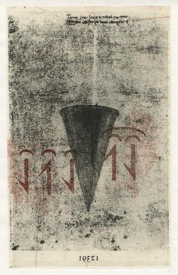 Helen Gerritzen, '12391 (funnel)', 2015, Nicole Longnecker Gallery
