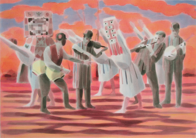 , 'The Dance,' 2017, bo.lee gallery
