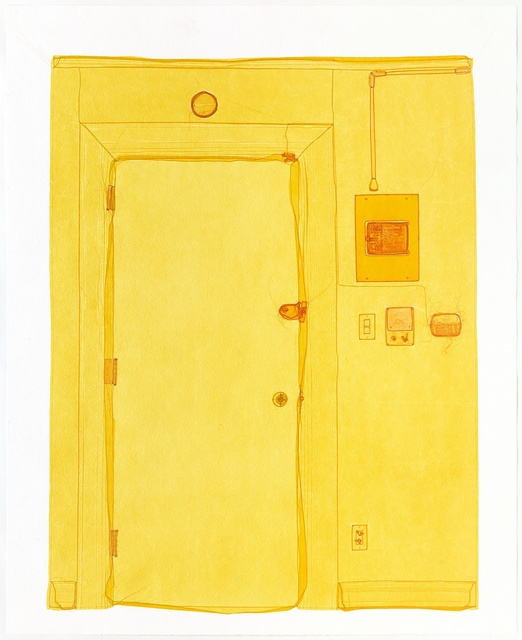 , 'Entrance, Unit 2, 348 West 22nd Street, New York, NY 10011, USA,' 2016, Victoria Miro