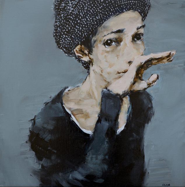 , 'Headscarf #2,' 2018, GALLERI RAMFJORD