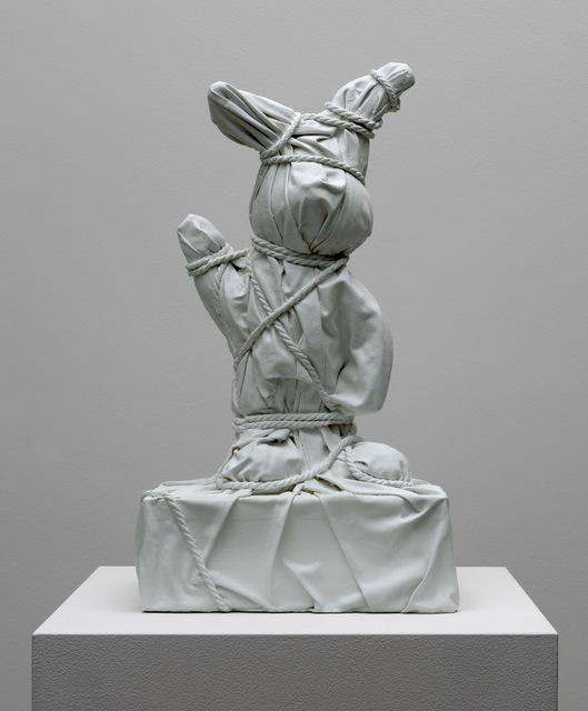 , 'Wrapped Bunny #2 White,' 2018, Galerie Ron Mandos